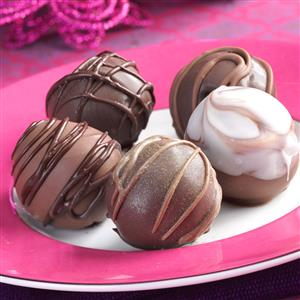 Chocolate Cherry Truffles Recipe