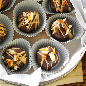 Chocolate-Covered Peanut Butter & Pretzel Truffles Recipe