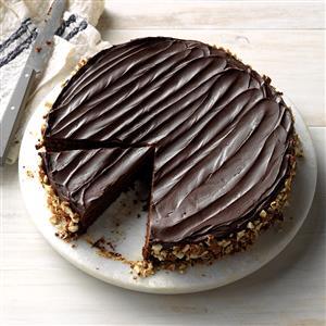 Chocolate Espresso-Nut Torte Recipe