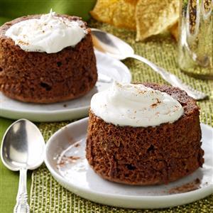 Chocolate Hazelnut Puddings Recipe