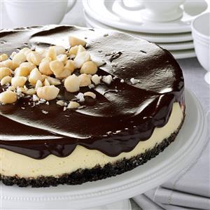 Chocolate Macadamia Cheesecake Recipe