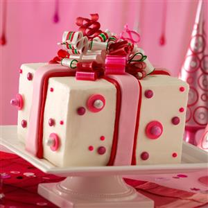 Chocolate-Mint Present Cake Recipe