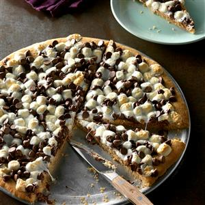 Chocolate Peanut Butter Pizza Recipe