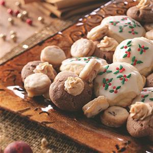 Chocolate Peanut Butter Thumbprints Recipe