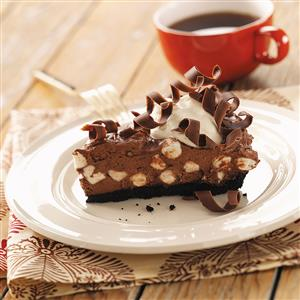 Chocolate Pie with Marshmallows Recipe