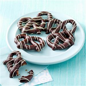 Chocolate Pretzel Cookies Recipe