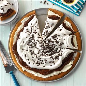Chocolate Pudding Pizza Recipe