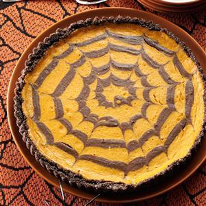 Chocolate Pumpkin Spider Tart Recipe