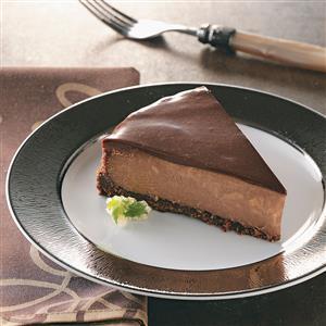 Chocolate-Topped Chocolate Cheesecake Recipe