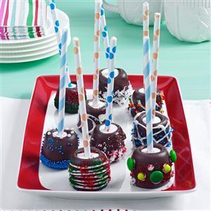 Chocolate-Topped Marshmallow Sticks Recipe