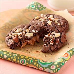 Chocolaty Caramel Cookies Recipe