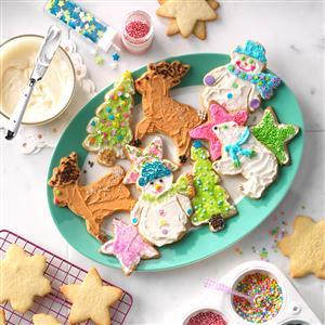 Christmas Cutouts Recipe