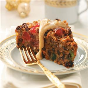Christmas Pudding with Brandy Sauce Recipe