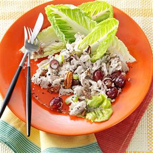 Chunky Chicken Salad with Grapes and Pecans Recipe
