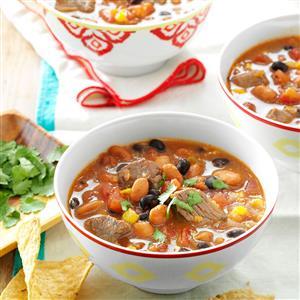 Chunky Taco Soup Recipe