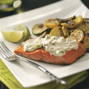 Cilantro-Lime Salmon Recipe