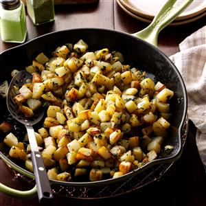 Cilantro Potatoes Recipe