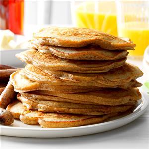Cinnamon Apple Pancakes Recipe