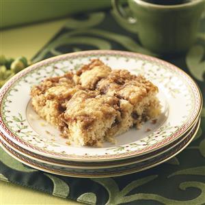 Cinnamon Nut Coffee Cake