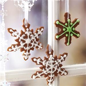 Cinnamon Snowflake Ornaments Recipe