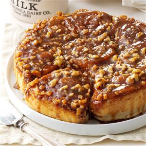 Cinnamon-Walnut Sticky Buns Recipe