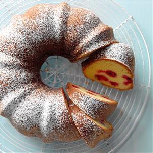 Citrus-Raspberry Coffee Cake Recipe