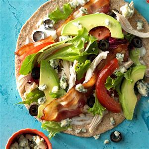 Cobb Salad Wrap Sandwiches Recipe
