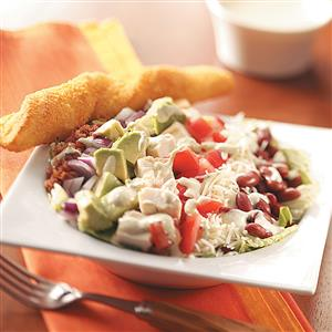 Cobb Salad with Chili-Lime Dressing Recipe
