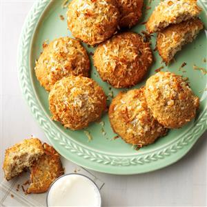 Coconut Banana Cookies Recipe