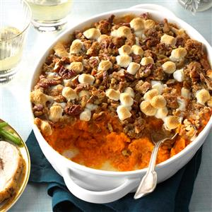 Coconut-Bourbon Sweet Potatoes Recipe