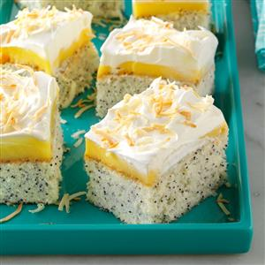 Coconut Poppy Seed Cake Recipe