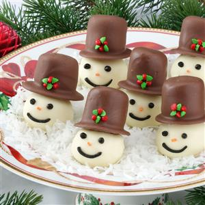 Coconut Snowman Recipe