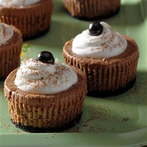 Coffee Lovers Mini Cheesecakes Recipe