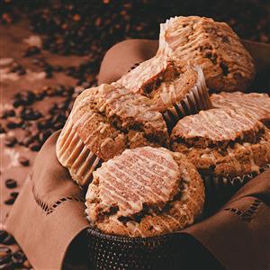 Coffee-Nut Muffins Recipe