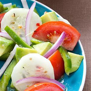 Colorful Avocado Salad Recipe