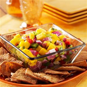 Colorful Mango Salsa Recipe
