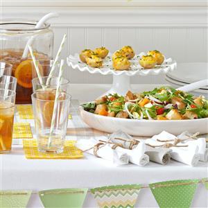 Colorful Papaya Panzanella Recipe