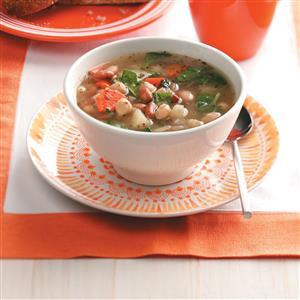Colorful Three-Bean Soup Recipe