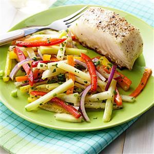 Confetti Jicama Salad Recipe