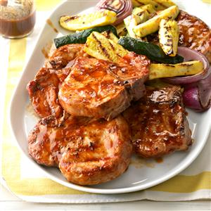Contest-Winning Barbecued Pork Chops
