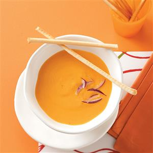 Contest-Winning Cheesy Cauliflower Soup Recipe