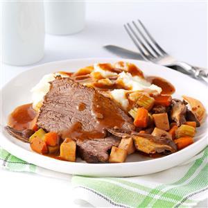 Contest-Winning Mushroom Pot Roast Recipe