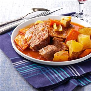 Contest-Winning Old-Fashioned Pot Roast Recipe