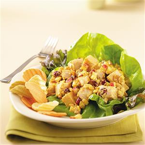 Cool Curried Chicken Salad Recipe