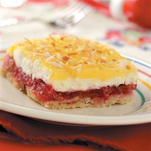 Cool Rhubarb Dessert Recipe
