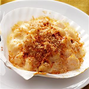 Coquilles St. Jacques for 1 Recipe