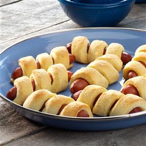 Corn Dog Twists Recipe
