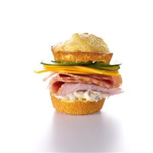 Corn Muffin Ham & Cheese Recipe
