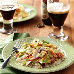 Corned Beef Stir-Fry Recipe