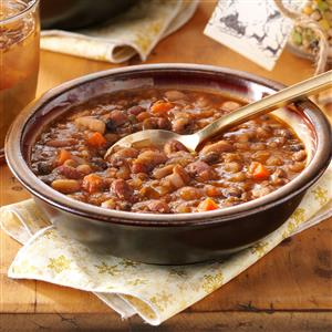 Country Bean Soup Recipe